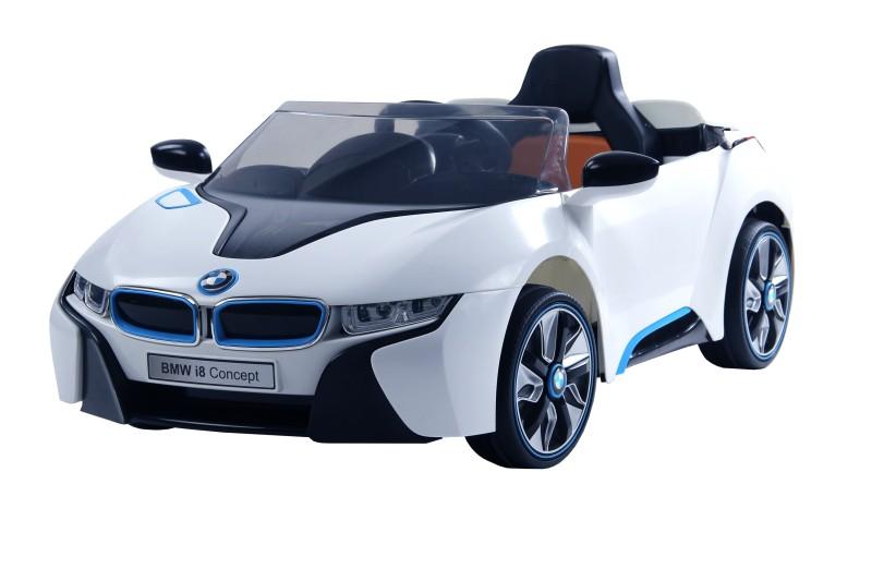 Carro Elétrico Sport Bmw I8 Concept Branca Com Controle 6V