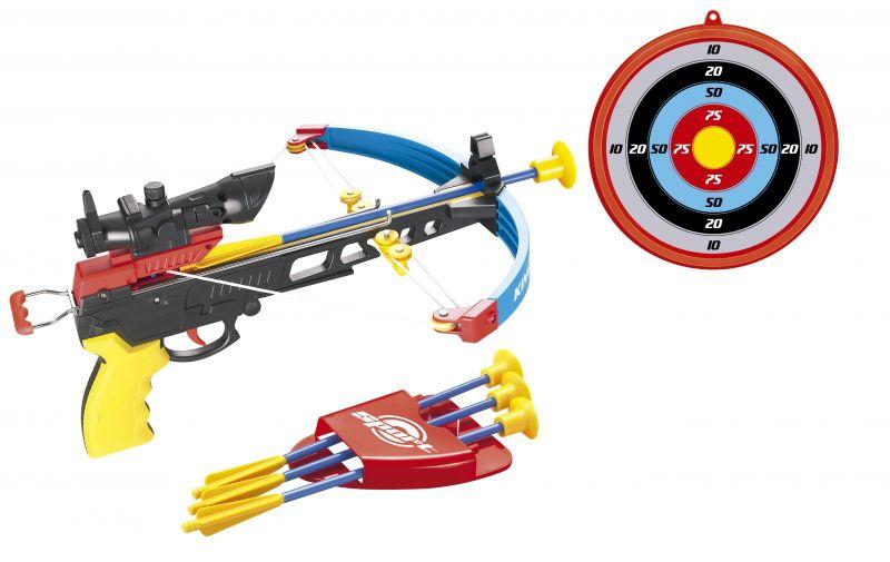 Conjunto Arco E Flecha Crossbow Com Mira De Led Infravermelho