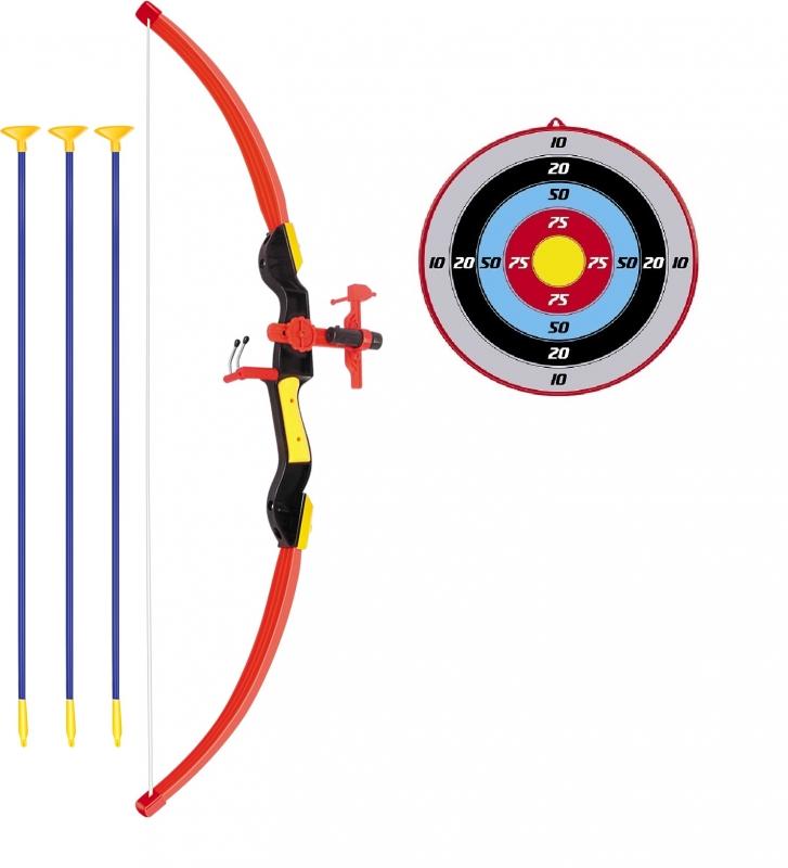 Conjunto Arco E Flecha Infantil Com Mira De Led