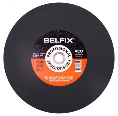 Disco De Corte Para Aço E Inox 14¨- Com 5 Unidades - Belfix