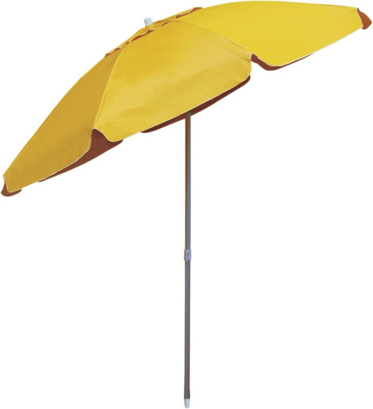 Guarda Sol Articulado Bagum Alumínio Top - Amarelo