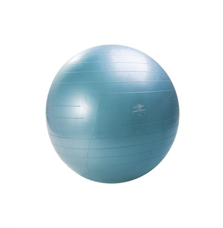 Gym Ball Anti-Burst 55 Cm Turquesa - Mormaii