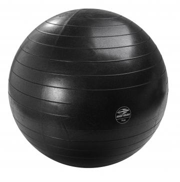 Gym Ball Anti-Burst 75 Cm Preta - Mormaii