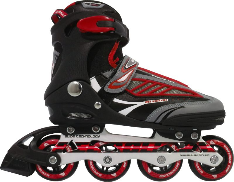 Inline Rollers Patins B Future 7000 ABEC-7 Aluminio 43 - Vermelho