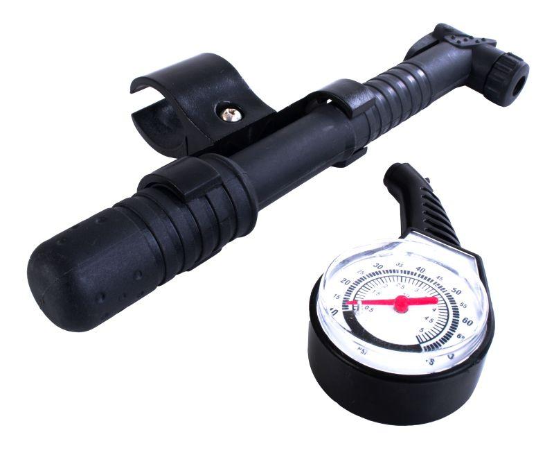 Kit Bomba De Ar E Manômetro - Bel Lazer