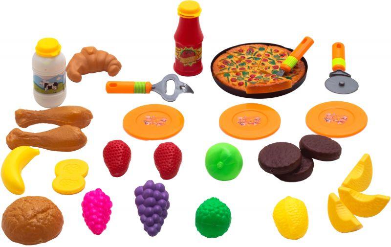Kit De Comidinhas E Pizza Grande Infantil - Belfix