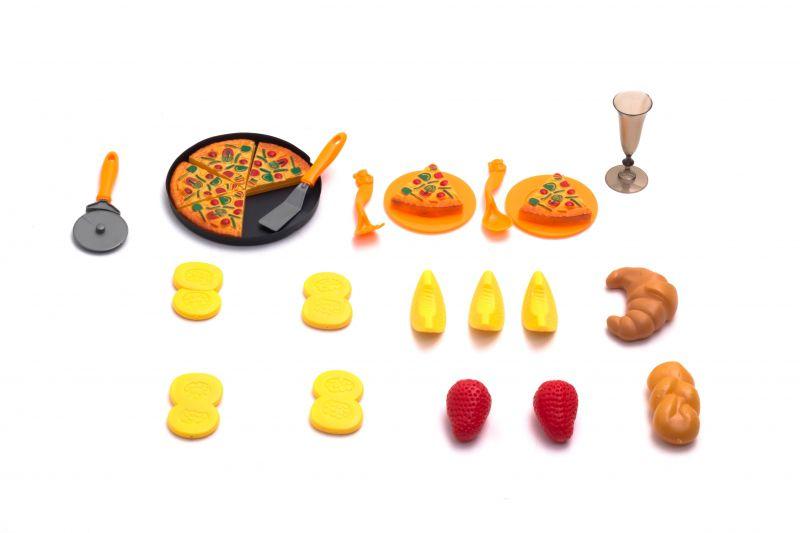 Kit Infantil De Comidinhas E Pizza