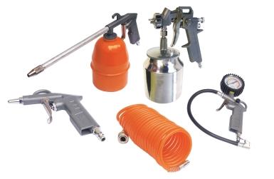 Kit Pintura Para Compressor De Ar 5 Peças Belfix