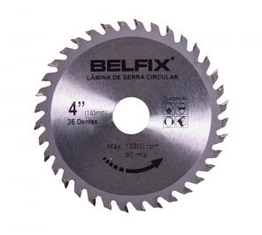 Lâmina De Serra Circular Para Madeira - 36 Dentes - Belfix