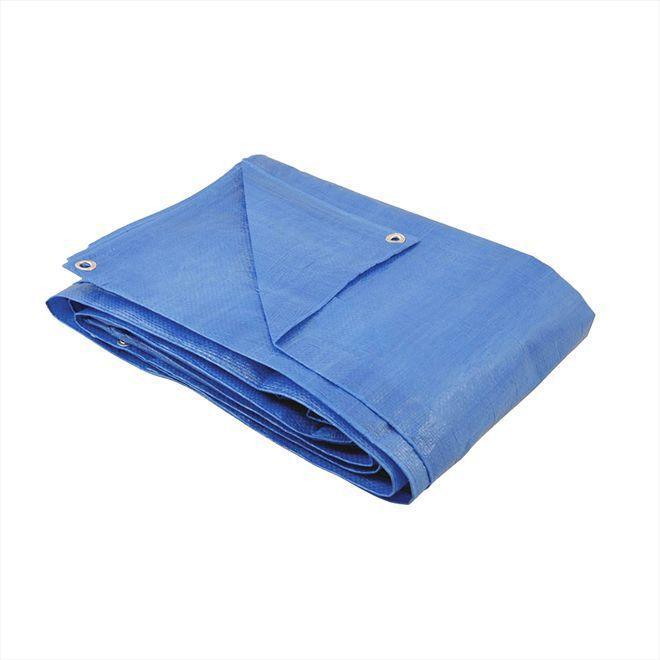 Lona / Encerado De Polietileno 5 x 4 Mt - Azul