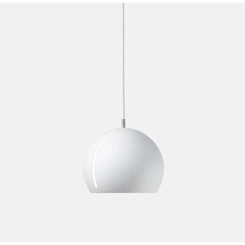 Lustre Pendente Globe Pelegrin PEL-076 Metal Branco