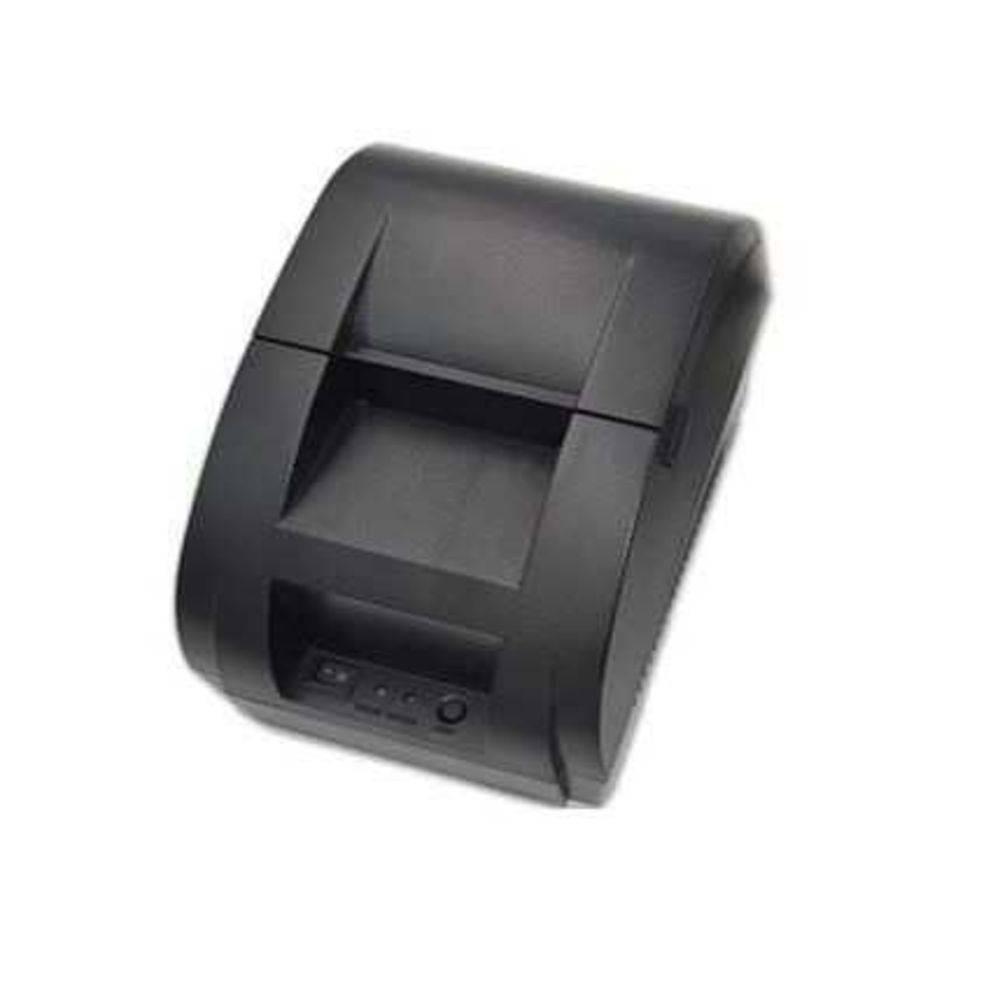 Mini Impressora Térmica Slim 58mm USB Preta HRX-HT-158 - Pelegrin