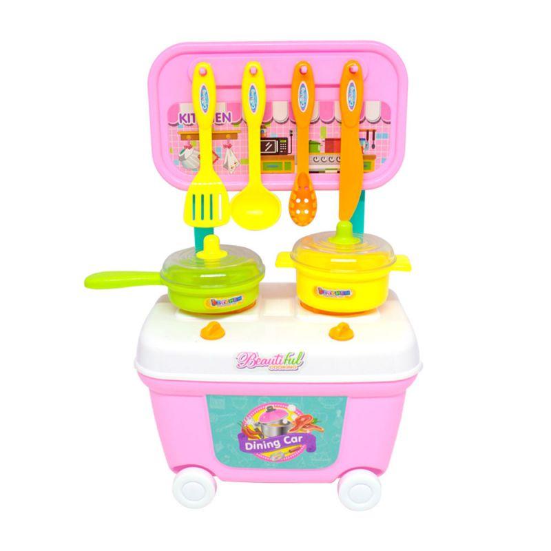 Mini Kit Carrinho Cozinha Da Chef - Belfix