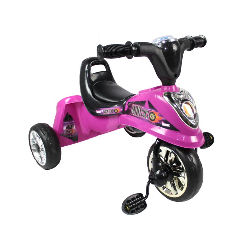 Miniciclo - Triciclo Infantil - Rosa - Belfix
