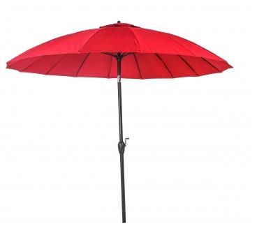 Ombrellone Articulado Chino 2,50 Metros - Vermelho
