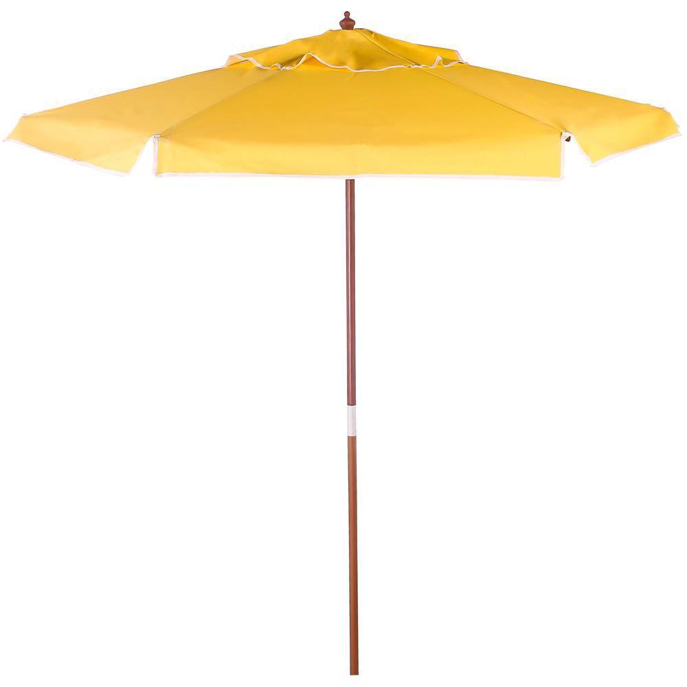 Ombrellone Madeira Cobertura PVC Bagun  2,00 Metros Amarelo