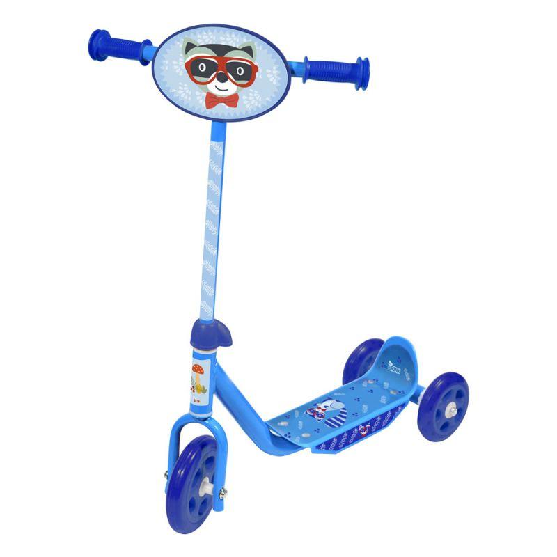 Patinete Infantil 3 Rodas Azul Bel Brink