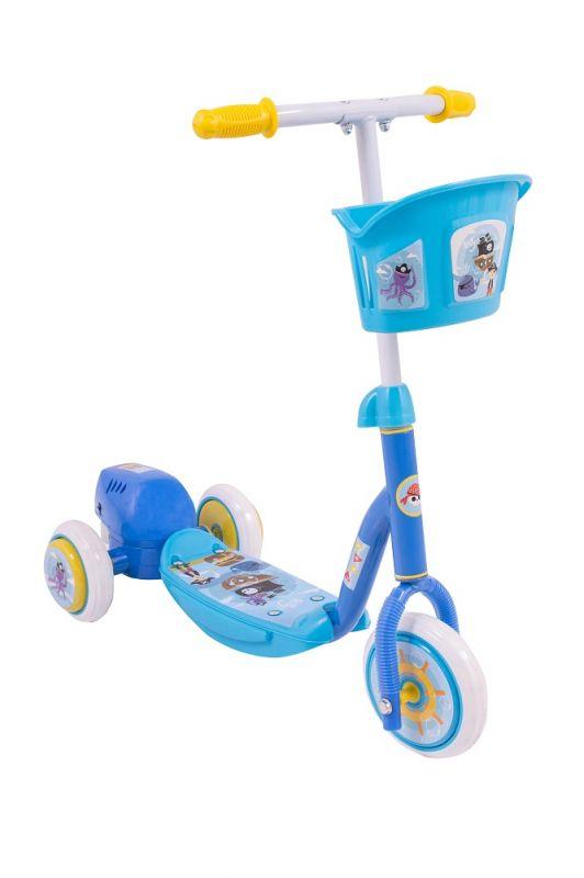 Patinete Infantil Bubble Azul - Solta Bolha de Sabão