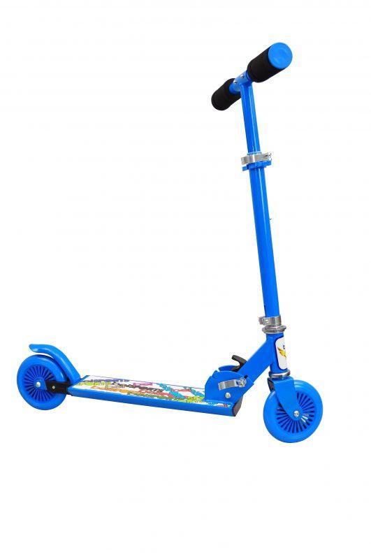 Patinete Radical Alumínio 2 Rodas Infantil Bel Azul