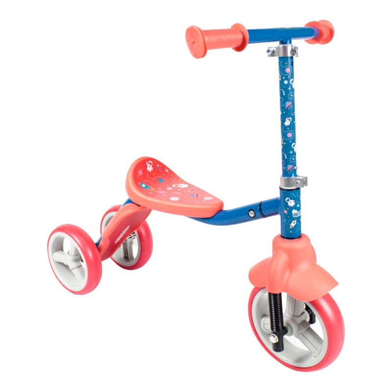 Patinete - Triciclo Infantil Bibiciclo 2 Em 1 - Belfix