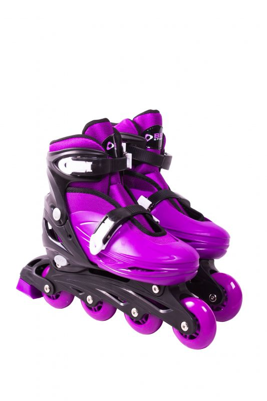 Roller In-Line  Patins Radical Roxo G (37-40)