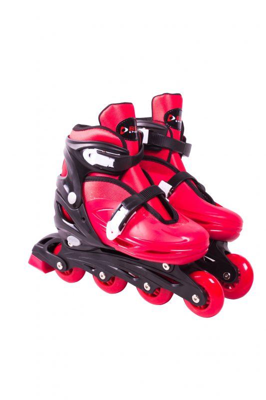 Roller In-Line  Patins Radical Vermelho M (32-35)
