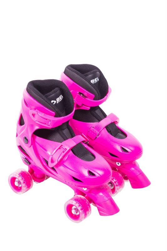 Roller Patins Clássico 4 Rodas Tamanho M Ajustável (33 a 36)