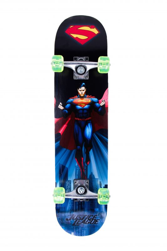 Skate Board Semi-Pro Justice League Superman