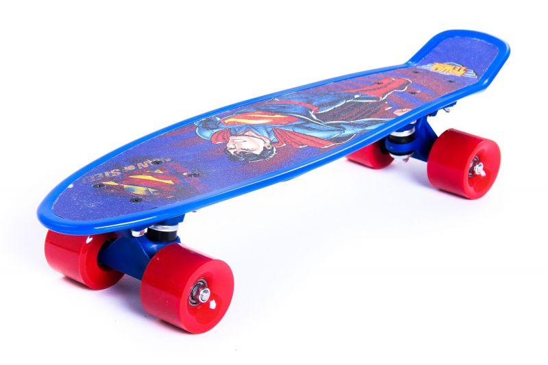 Skate Cruiser Liga da Justiça