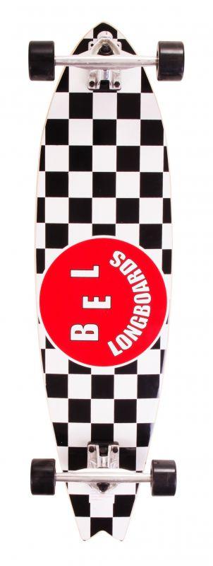 Skate Longboard Bel Classic 90 Cm - Classic Preto