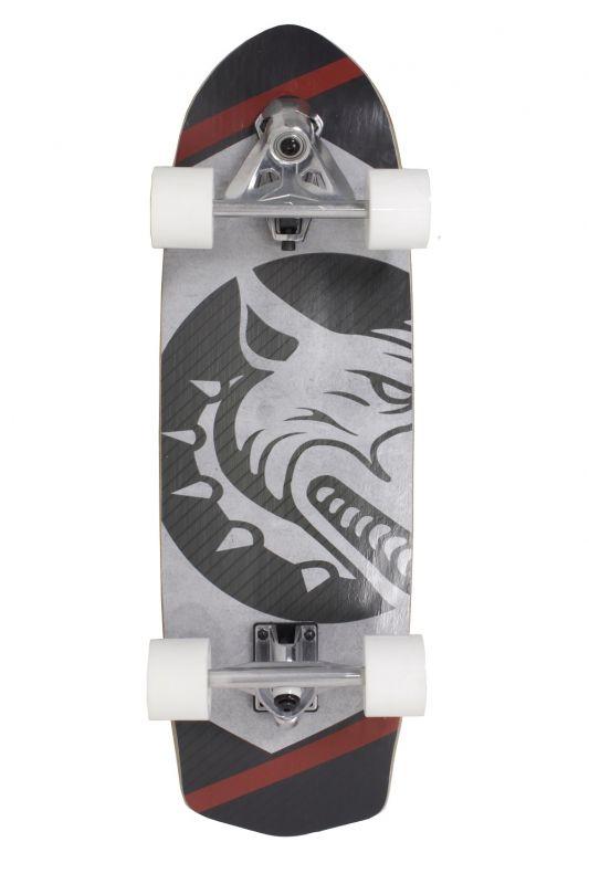 Skate Swingboard Red Nose - Preto E Vermelho
