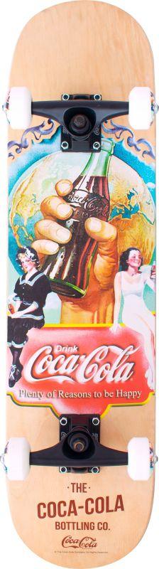 Skateboard Coca Cola - Bottling