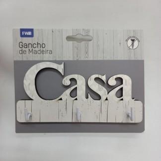 GANCHO DE MADEIRA CASA