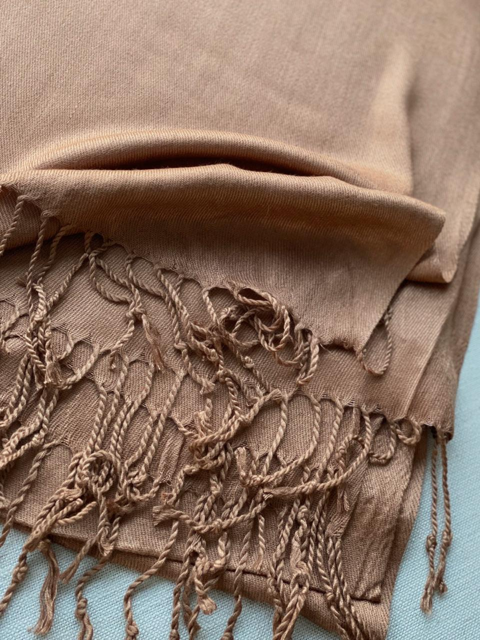 PASHIMINA VISCOSE LISA CHOCOLATE