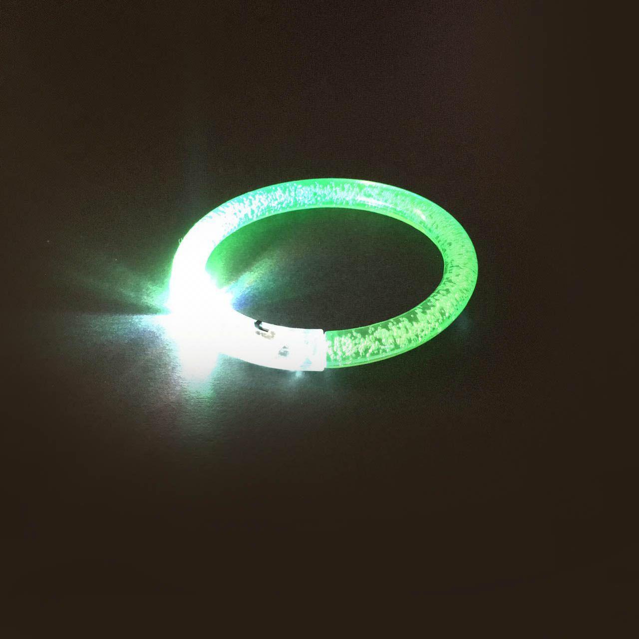 PULSEIRA ACRILICA DE LED