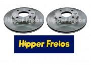 DISCO FREIO VENTILADO HIPPER PRISMA ONIX 1.0 1.4 2013 EM DIANTE