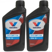 Kit 2 óleos Motor Mineral 20w50 Valvoline 1l