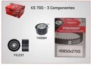KIT CORREIA DENTADA CLIO LOGAN SANDERO SCENIC 1.6 16V KS700