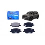 Kit Discos + Pastilhas Dianteiro Fiat Jeep Toro Renegade