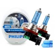 KIT LAMPADA H11 CRYSTALVISION ULTRA PHILIPS 12362CVUSM