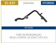 TUBO AGUA MOTOR HYUNDAI HB20 1.0 3 CILINDROS