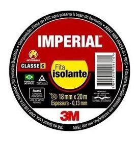 FITA ISOLANTE 3M IMPERIAL 18MMX5M  - Campos Auto Peças