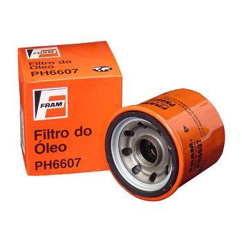 FILTRO OLEO SENTRA VERSA SANDERO  TWIGO CLIO HB20 LIVINA PH6607  - Campos Auto Peças