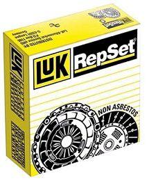 KIT EMBREAGEM REPSET RENAULT CLIO 1.6 8/16V 2000 A ABR/2008 - LUK