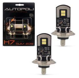 LAMPADA LED H7 12/24V 20W 6500K BRANCA