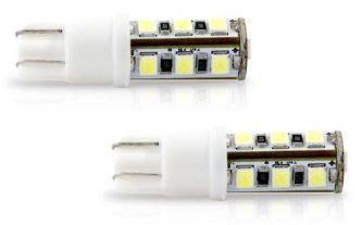 LAMPADA LED PINGAO 12V 13 LEDS BRANCA PAR VERIFICAR APLICACAO NO VEICULO AL040