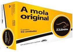 MOLA SUSPENSAO DIANTEIRA SEM AC ESCORT 16V 1997 FABRINI IFO0349  - Campos Auto Peças