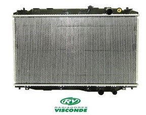 RADIADOR ÁGUA HONDA NEW CIVIC 1.8 16V COM AR 2006 A 2009 VISCONDE 12600