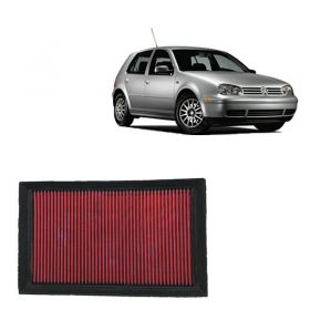 Filtro De Ar Esportivo Inbox VW Golf 1.6 8V MI 2001 a 2011 (Filtro na tampa em cima do motor)