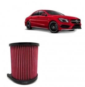 Filtro de Ar Esportivo Inbox Duplo Fluxo Mercedes-Benz CLA45 AMG 2013 até 2019